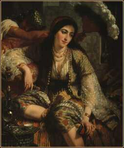 Ange Tissier, Une Algérienne