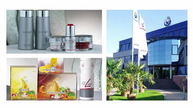 Fitline & Beatyline tuotteita ja PM-Internationalin päätoimisto