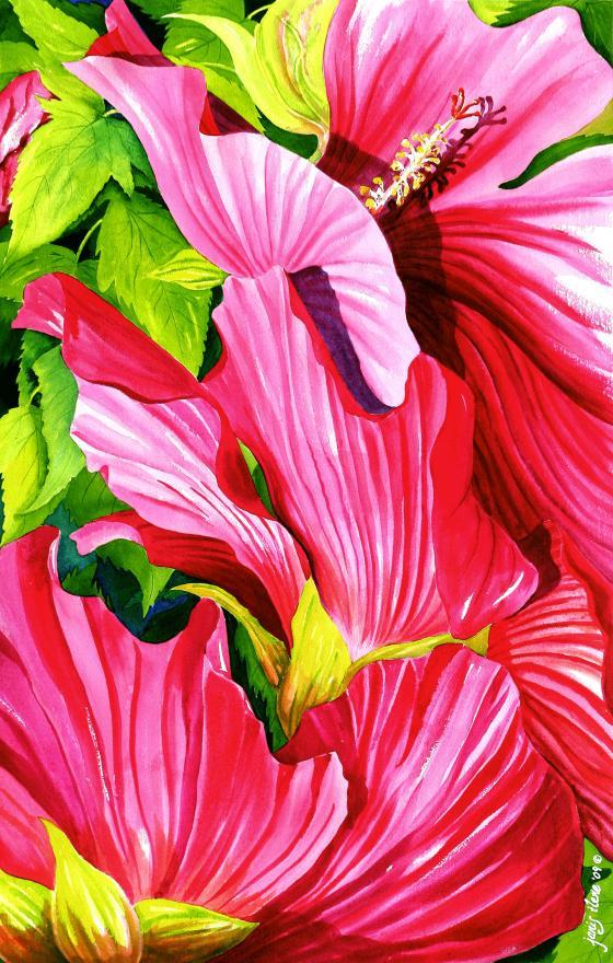 This relative of the hibiscus grows in profusion along the Atlantic Coast near t