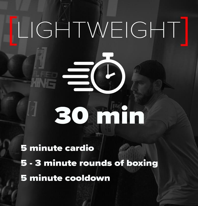 lightweight, workout