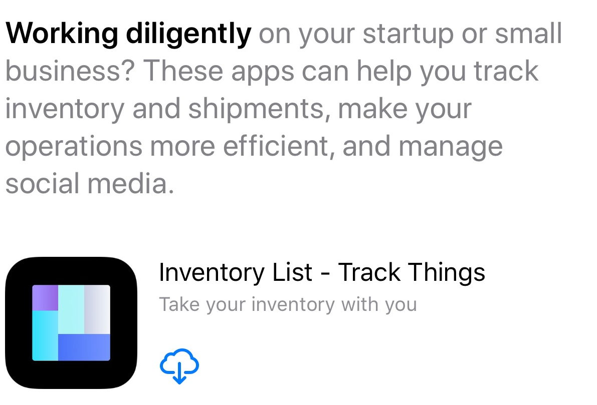 App Store Story